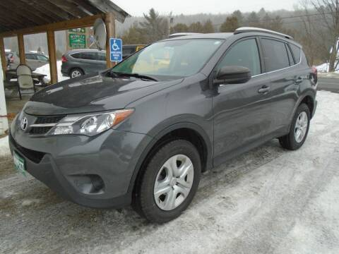 2015 Toyota RAV4 for sale at Wimett Trading Company in Leicester VT