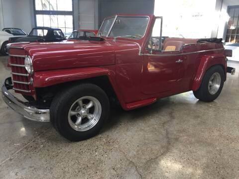 1950 Willys Jeepster for sale at Milpas Motors Auto Gallery in Ventura CA