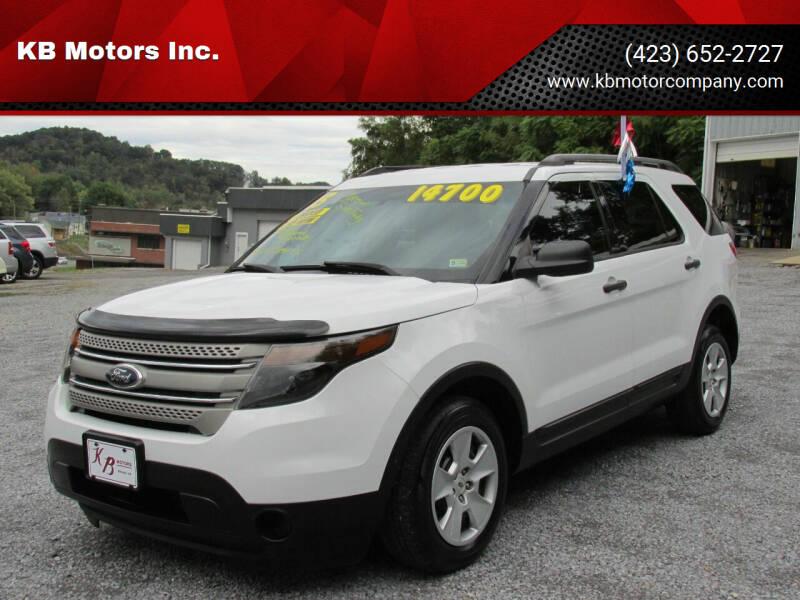 2013 Ford Explorer for sale at KB Motors Inc. in Bristol VA