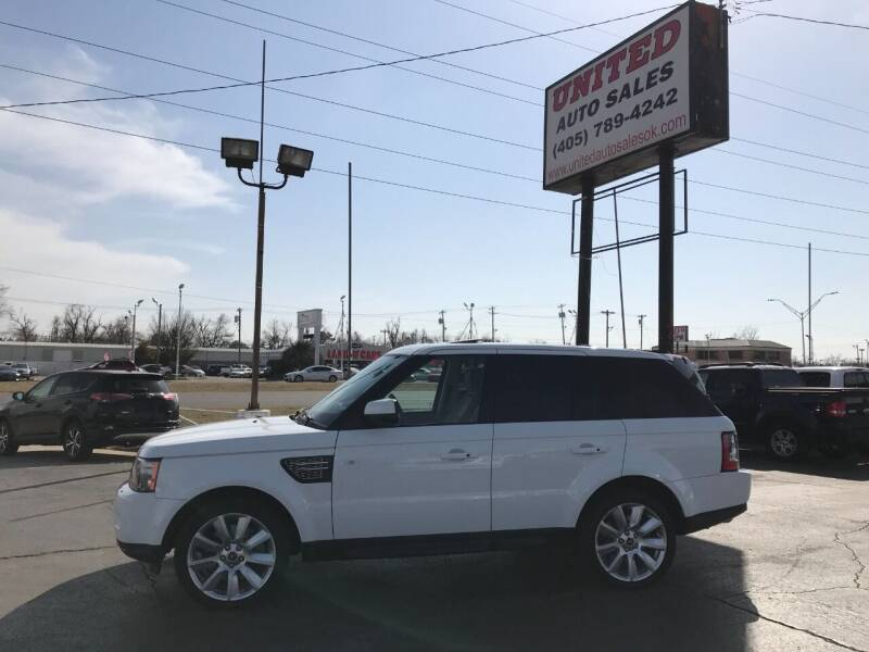 2013 Land Rover Range Rover Sport for sale at United Auto Sales in Oklahoma City OK