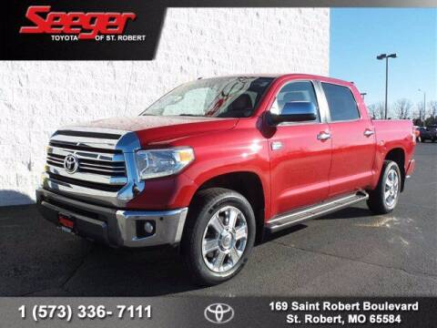 2016 Toyota Tundra for sale at SEEGER TOYOTA OF ST ROBERT in St Robert MO