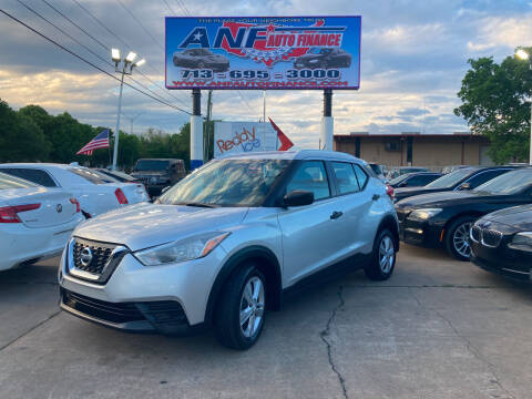 2019 Nissan Kicks for sale at ANF AUTO FINANCE in Houston TX