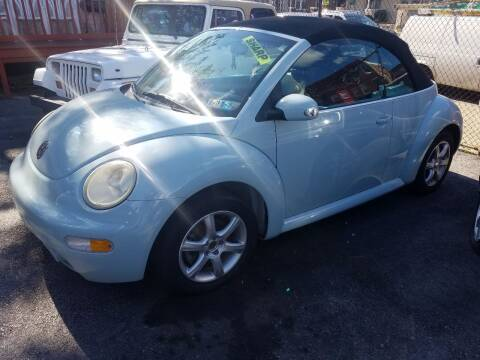 2005 Volkswagen New Beetle for sale at Rockland Auto Sales in Philadelphia PA