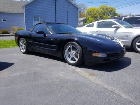 2002 Chevrolet Corvette for sale at Great Lakes Classic Cars & Detail Shop in Hilton NY