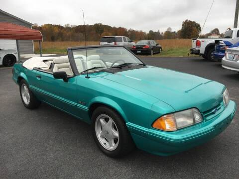 1993 Ford Mustang for sale at Hillside Motors in Jamestown KY
