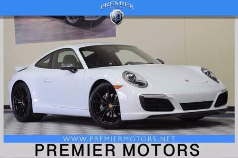2019 Porsche 911 for sale at Premier Motors in Hayward CA
