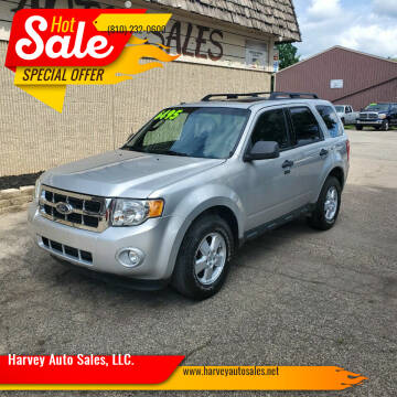 2009 Ford Escape for sale at Harvey Auto Sales, LLC. in Flint MI