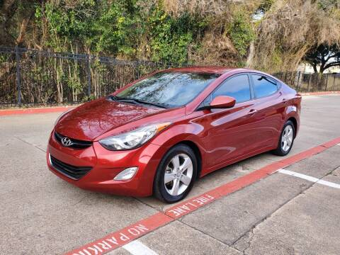 2013 Hyundai Elantra for sale at DFW Autohaus in Dallas TX