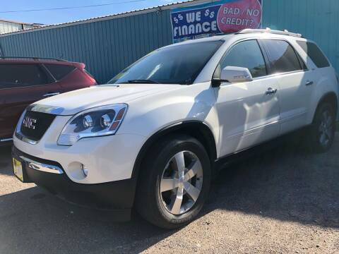 2012 GMC Acadia for sale at El Tucanazo Auto Sales in Grand Island NE