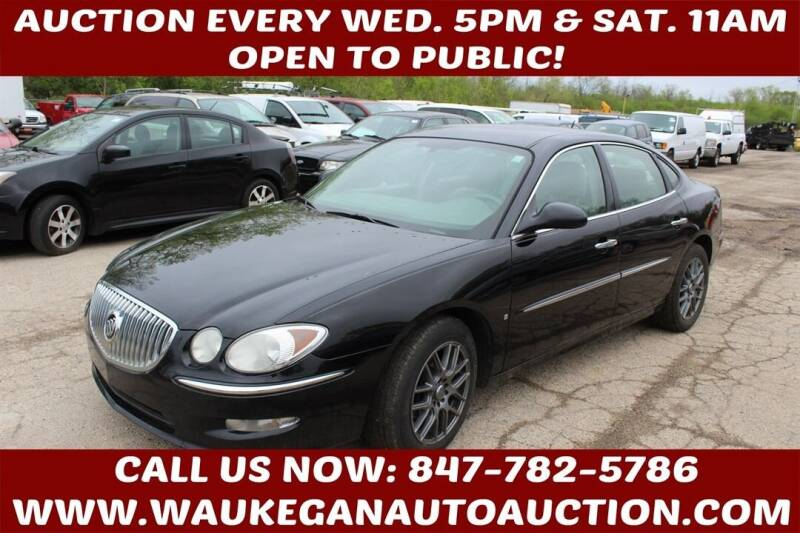 2008 Buick LaCrosse for sale at Waukegan Auto Auction in Waukegan IL