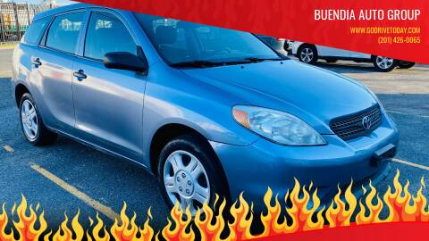 2007 Toyota Matrix for sale at BUENDIA AUTO GROUP in Hasbrouck Heights NJ