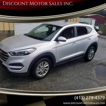 2018 Hyundai Tucson for sale at Discount Motor Sales inc. in Ludlow MA