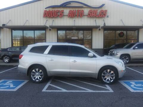 2012 Buick Enclave for sale at DOUG'S AUTO SALES INC in Pleasant View TN