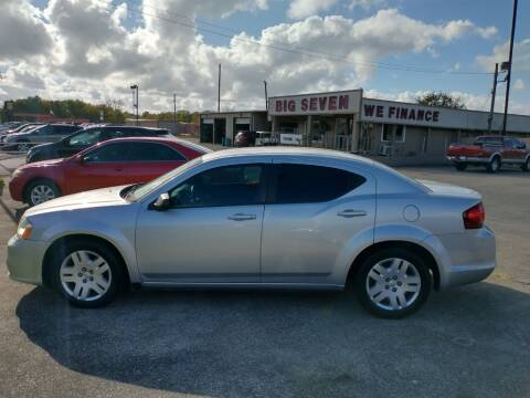 2012 Dodge Avenger for sale at BIG 7 USED CARS INC in League City TX