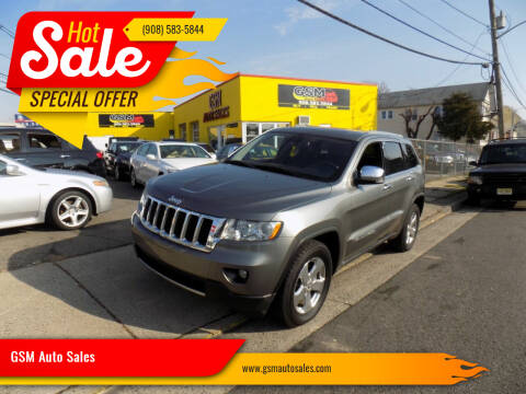 2011 Jeep Grand Cherokee for sale at GSM Auto Sales in Linden NJ