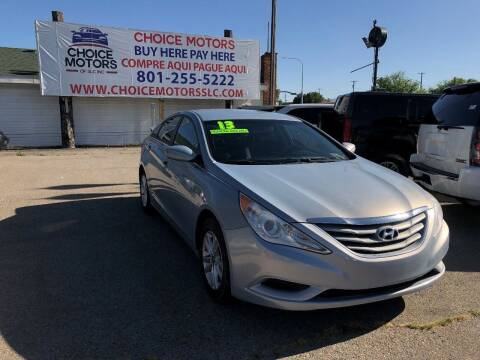 2013 Hyundai Sonata for sale at Choice Motors of Salt Lake City in West Valley  City UT