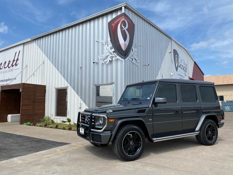 2016 Mercedes-Benz G-Class for sale at Barrett Auto Gallery in San Juan TX