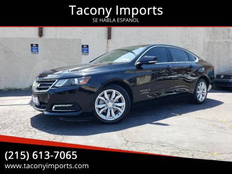 2018 Chevrolet Impala for sale at Tacony Imports in Philadelphia PA