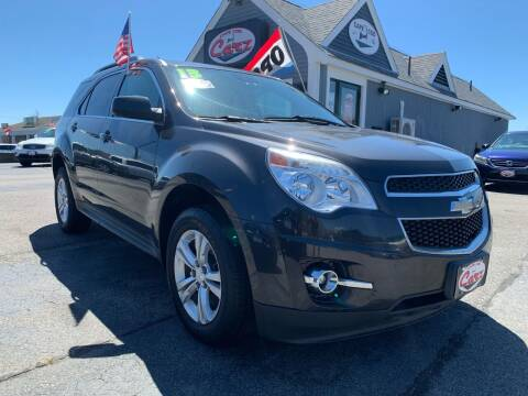 2013 Chevrolet Equinox for sale at Cape Cod Carz in Hyannis MA