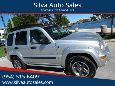 2004 Jeep Liberty for sale at Silva Auto Sales in Pompano Beach FL