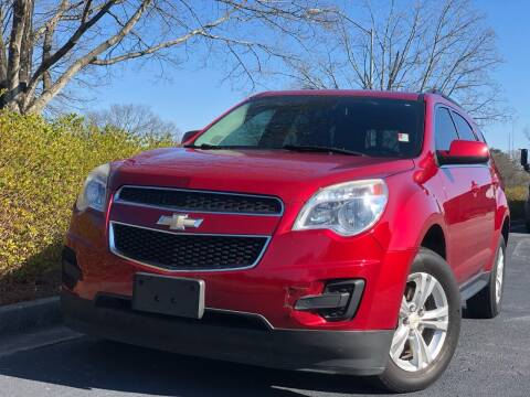 2012 Chevrolet Equinox for sale at William D Auto Sales in Norcross GA