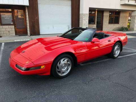 1994 Chevrolet Corvette for sale at Inland Valley Auto in Upland CA