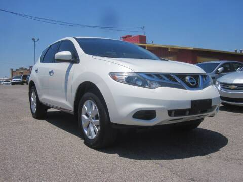 2012 Nissan Murano for sale at T & D Motor Company in Bethany OK