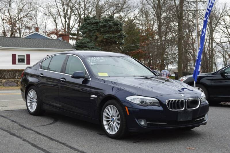 2011 BMW 5 Series for sale at LARIN AUTO in Norwood MA