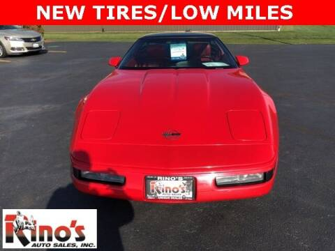 1992 Chevrolet Corvette for sale at Rino's Auto Sales in Celina OH