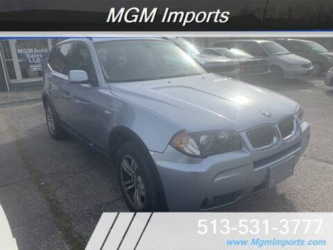 2006 BMW X3 for sale at MGM Imports in Cincannati OH