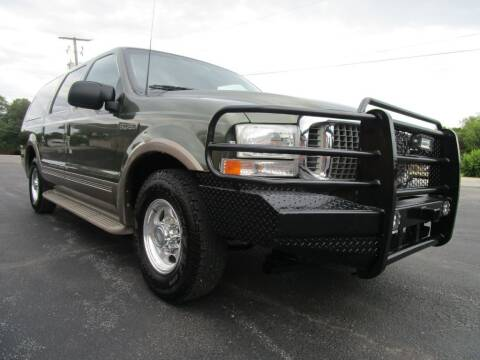 2000 Ford Excursion for sale at Thornhill Motor Company in Lake Worth TX