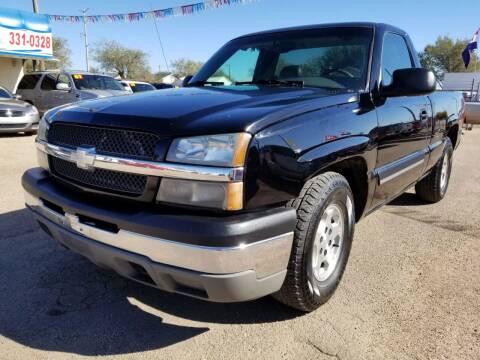 2003 Chevrolet Silverado 1500 for sale at California Auto Sales in Amarillo TX