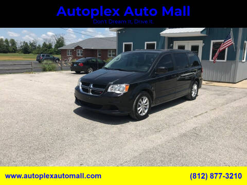 2016 Dodge Grand Caravan for sale at Autoplex Auto Mall in Terre Haute IN