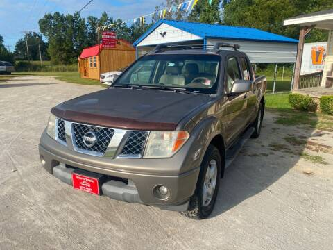 2005 Nissan Frontier for sale at Southtown Auto Sales in Whiteville NC