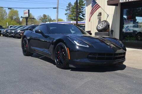 2019 Chevrolet Corvette for sale at Nick's Motor Sales LLC in Kalkaska MI