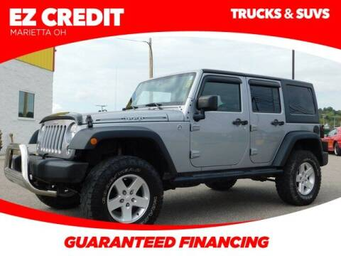 2015 Jeep Wrangler Unlimited for sale at Pioneer Family preowned autos in Williamstown WV