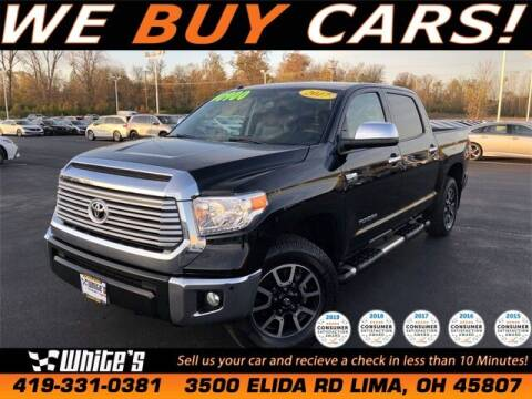 2017 Toyota Tundra for sale at White's Honda Toyota of Lima in Lima OH