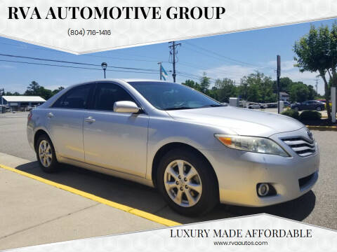 2011 Toyota Camry for sale at RVA Automotive Group in North Chesterfield VA