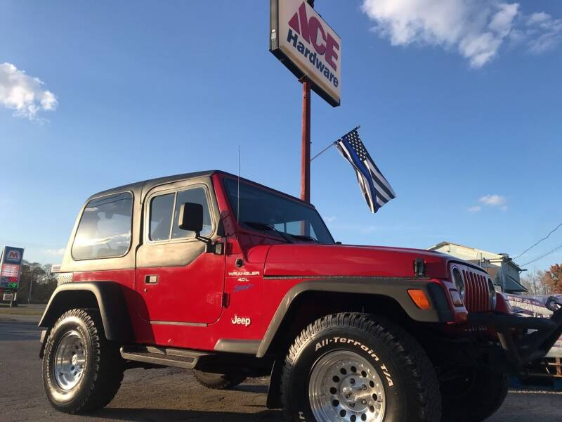 1997 Jeep Wrangler for sale at ACE HARDWARE OF ELLSWORTH dba ACE EQUIPMENT in Canfield OH