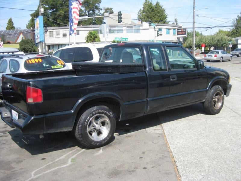 1995 Chevrolet S-10 for sale at UNIVERSITY MOTORSPORTS in Seattle WA