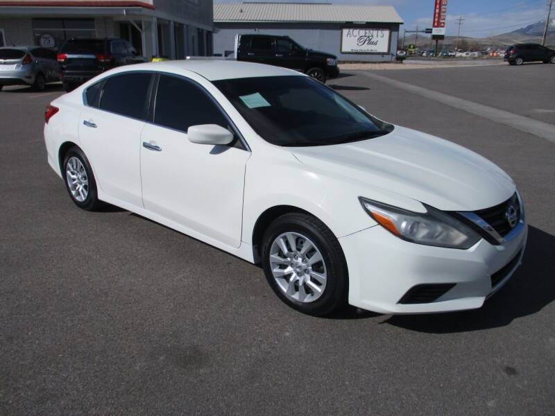2016 Nissan Altima for sale at West Motor Company in Hyde Park UT