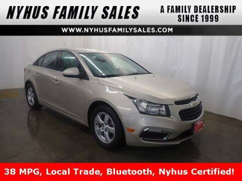 2016 Chevrolet Cruze Limited for sale at Nyhus Family Sales in Perham MN