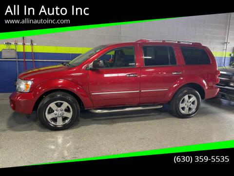 2008 Dodge Durango for sale at All In Auto Inc in Addison IL