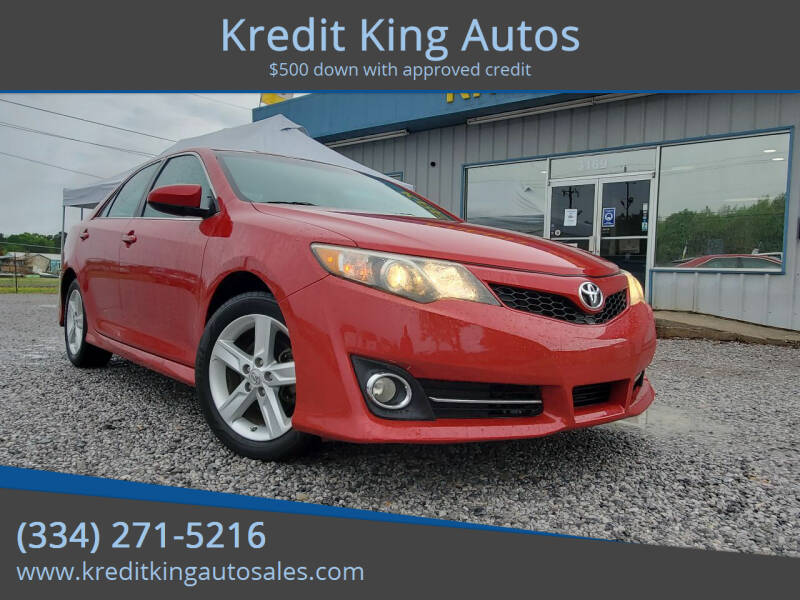 2013 Toyota Camry for sale at Kredit King Autos in Montgomery AL