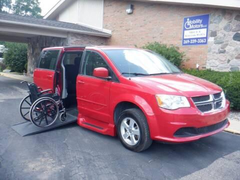 2013 Dodge Grand Caravan for sale at Mobility Motors LLC - A Wheelchair Van in Battle Creek MI