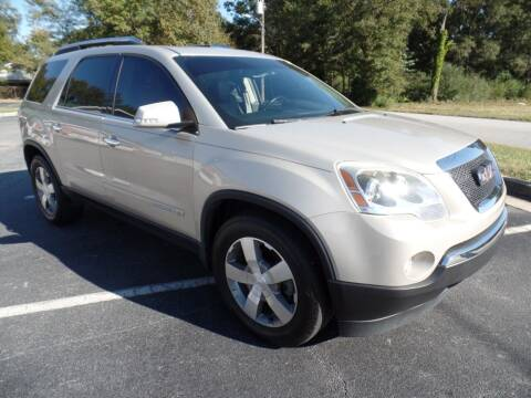 2008 GMC Acadia for sale at United Automotive Group in Griffin GA