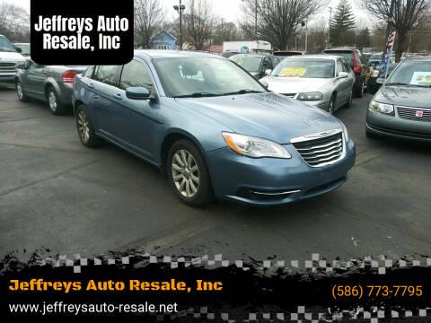 2011 Chrysler 200 for sale at Jeffreys Auto Resale, Inc in Clinton Township MI