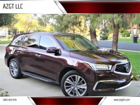 2017 Acura MDX for sale at AZGT LLC in Phoenix AZ