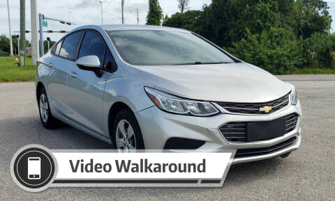 2018 Chevrolet Cruze for sale at FLORIDA USED CARS INC in Fort Myers FL