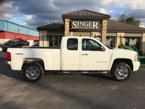 2010 Chevrolet Silverado 1500 for sale at Singer Auto Sales in Caldwell OH